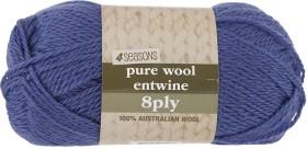 4-Seasons-Pure-Wool-Entwine-100g-8ply on sale