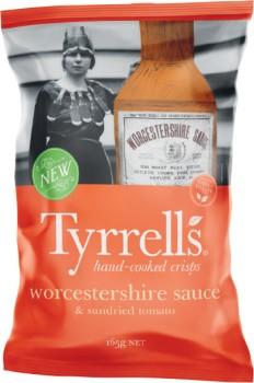 Tyrrells-Crisps-165g on sale