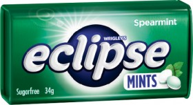 Wrigleys-Eclipse-Mints-34g on sale