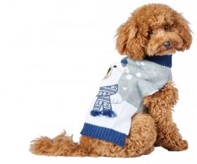 Bond-Co-Polar-Bear-Dog-Sweater-Grey-Blue on sale
