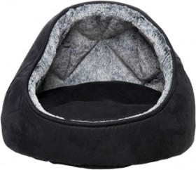 Harmony-Faux-Suede-Cat-Dome-Grey on sale