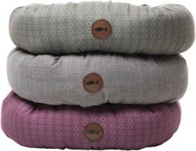 Harmony-Geo-Print-or-Tweed-Round-Cat-Bed on sale