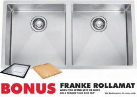 Franke-Plaza-Sink on sale