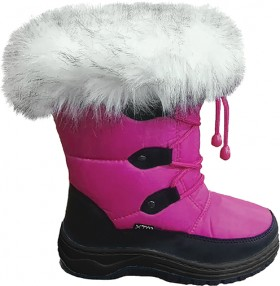 XTM-Kids-Skyler-Pink-Snow-Boots on sale