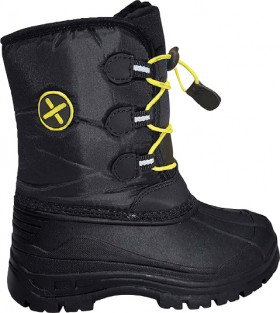 XTM-Kids-Apre-Rocket-BlackYellow-Snow-Boots on sale