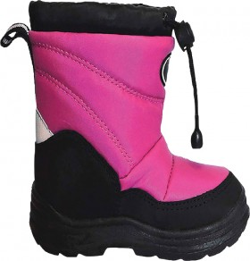 XTM-Kids-Puddles-Pink-Snow-Boots on sale
