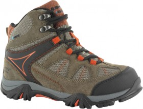 HI-Tec-Kids-Altitude-Lite-Mid-NWP-Brown-Hiking-Boots on sale