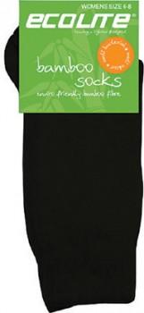 Ecolite-Womens-Bamboo-Socks-Black-3-8 on sale