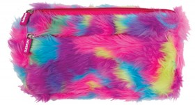 Crazy-Fluffy-Pencil-Case-Double-Zip on sale