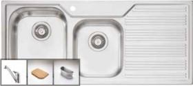 Oliveri-1-34-Bowl-Sink-and-Tap-Set on sale