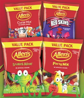 Allens-Family-Size-Candy-Bag-370g-520g on sale