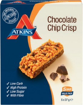Atkins-Day-Break-Choc-Chip-Snack-Bars-5-Pack on sale