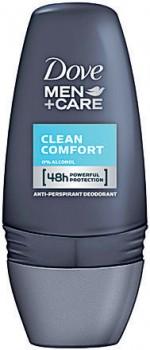 Dove-Men-Antiperspirant-Roll-On-Deodorant-Clean-Comfort-50mL on sale