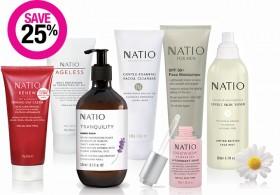 Save-25-on-Natio-Skincare-Range on sale