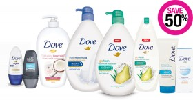 Save-50-on-Dove-Bath-Toiletry-Deodorant-Skincare-Mens-Grooming-Ranges on sale
