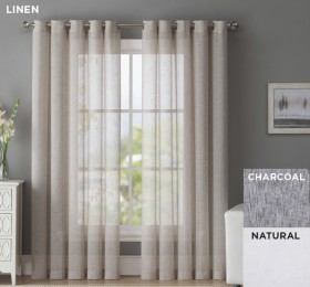 40-off-Wickford-Ready-to-Hang-Eyelet-Sheer-Curtains on sale