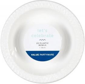 Plastic-Bowls-20-Pack on sale