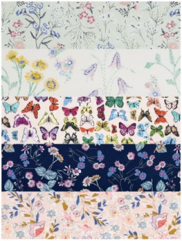 NEW-Printed-Voile on sale
