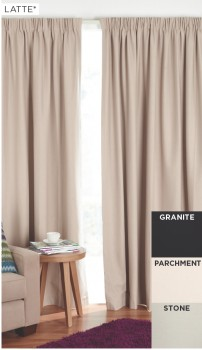 30-off-Ishtar-Blockout-Pencil-Pleat-Curtains on sale