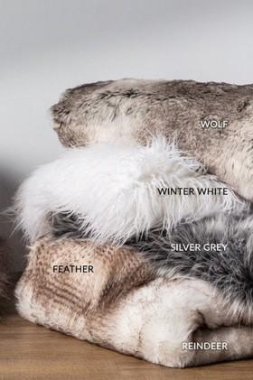 Alpine-Faux-Fur-Throw on sale