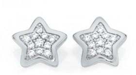 Sterling-Silver-CZ-Studs on sale