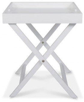 Dante-Butler-Tray-Table-in-White on sale