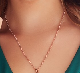 9ct-Rose-Gold-45cm-Solid-Belcher-Chain on sale