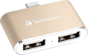 Verbatim-USB-C-3.1-Dual-Port-USB-Hub on sale