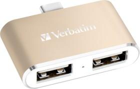 Verbatim-USB-C-3.1-Dual-Port-USB-Hub on sale
