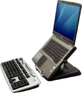 Fellowes-Portable-Laptop-Riser on sale