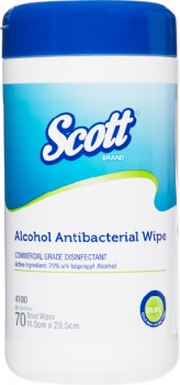 SCOTT-Alcohol-Antibacterial-Wipes on sale