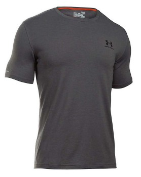 Under-Armour-Mens-Charged-Cotton-Tee-Grey on sale