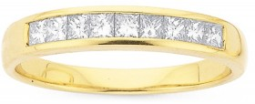 18ct-Gold-Diamond-Band on sale