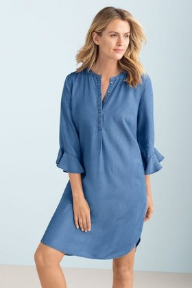 Capture-Chambray-Dress on sale