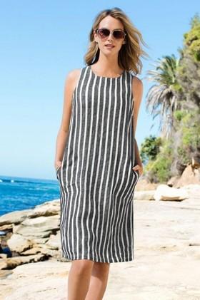 Capture-Linen-Dress on sale