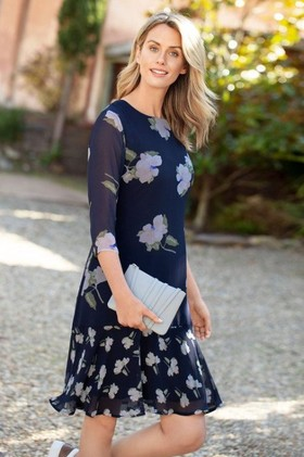 Capture-Ruffle-Hem-Dress on sale