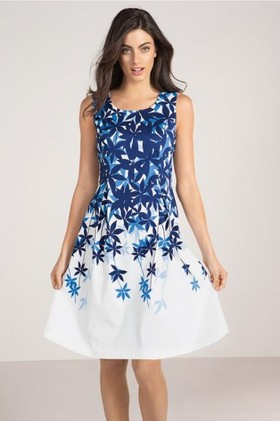Capture-Fit-and-Flare-Dress on sale