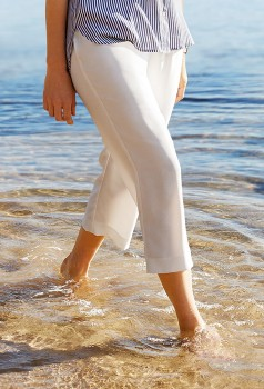 Simply-Vera-Vera-Wang-Tailored-Crepe-Culotte on sale
