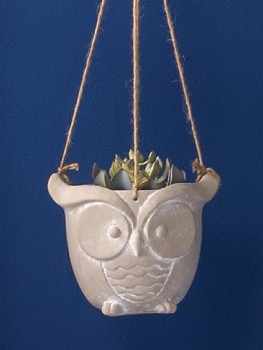 Ombre-Home-Hanging-Owl on sale
