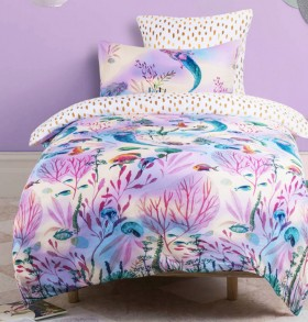 40-off-Kids-House-Mermaid-Magic-Quilt-Cover-Set on sale