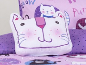 40-off-Kids-House-Crazy-Cat-Cushion on sale