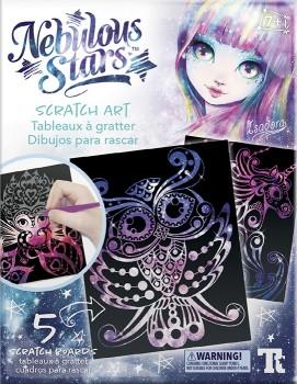 Nebulous-Stars-Scratch-Art-Pack-Multicoloured on sale
