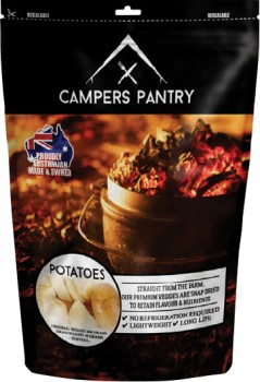 Campers-Pantry-40g-Dried-Potatoes-Freeze-Dried-Food-1-Serve on sale