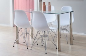 NEW-Zoe-5-Piece-Dining-Set-with-Isla-Chairs on sale
