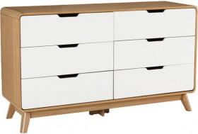 Retro-6-Drawer-Dresser on sale