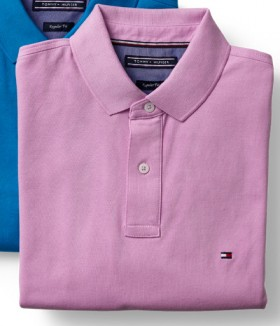 Tommy-Hilfiger-Polo-Pink on sale