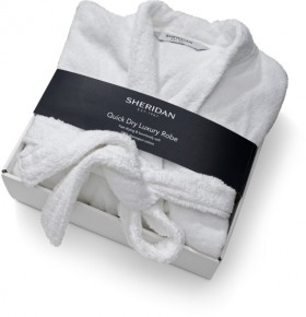 Sheridan-Quick-Dry-Bath-Robe-in-White on sale