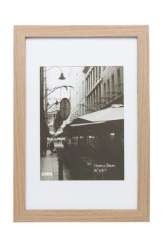 Vue-Essence-Photo-Frame-15x20cm-Oak on sale