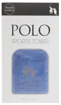 Polo-Sports-Towel-Blue on sale