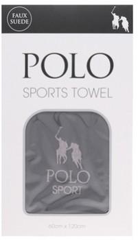 Polo-Sports-Towel-Charcoal on sale